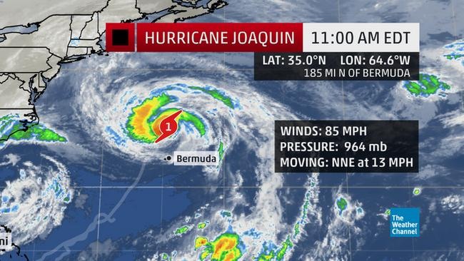 hurricane joaquin news cycle