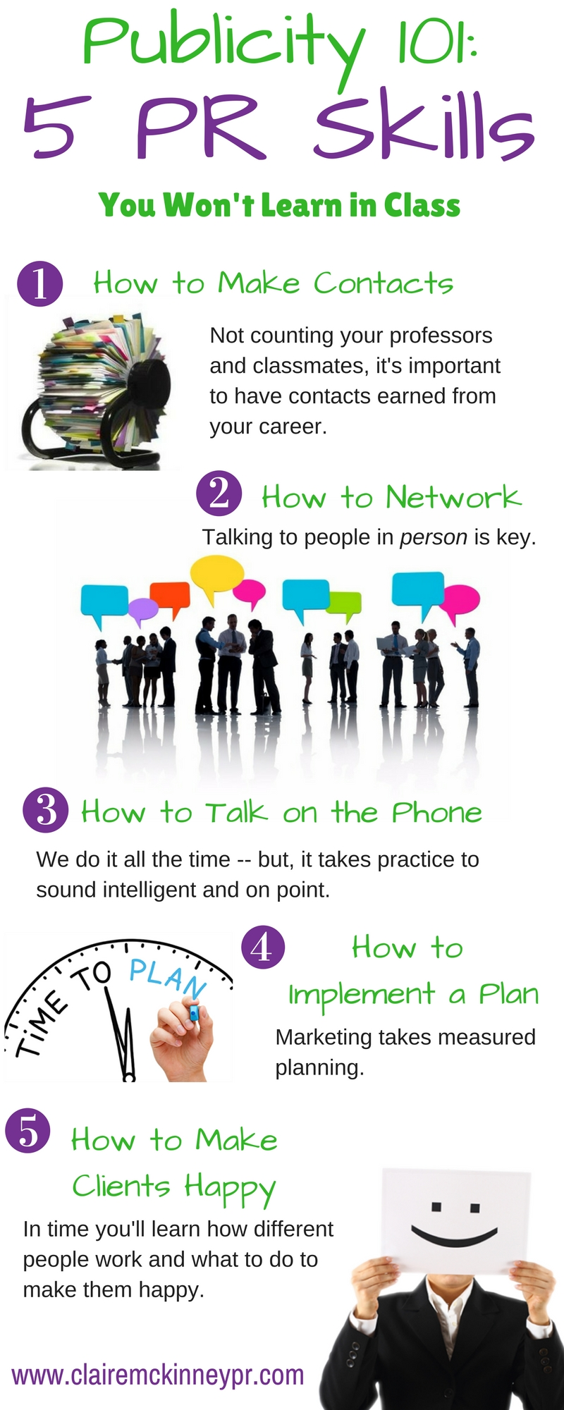 5 Pr Skills CMPR Infographic
