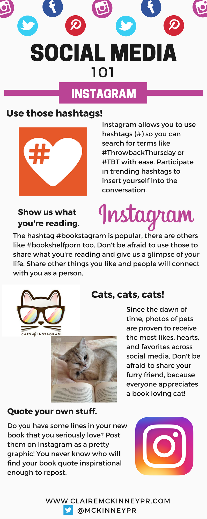 social media instagram infographic