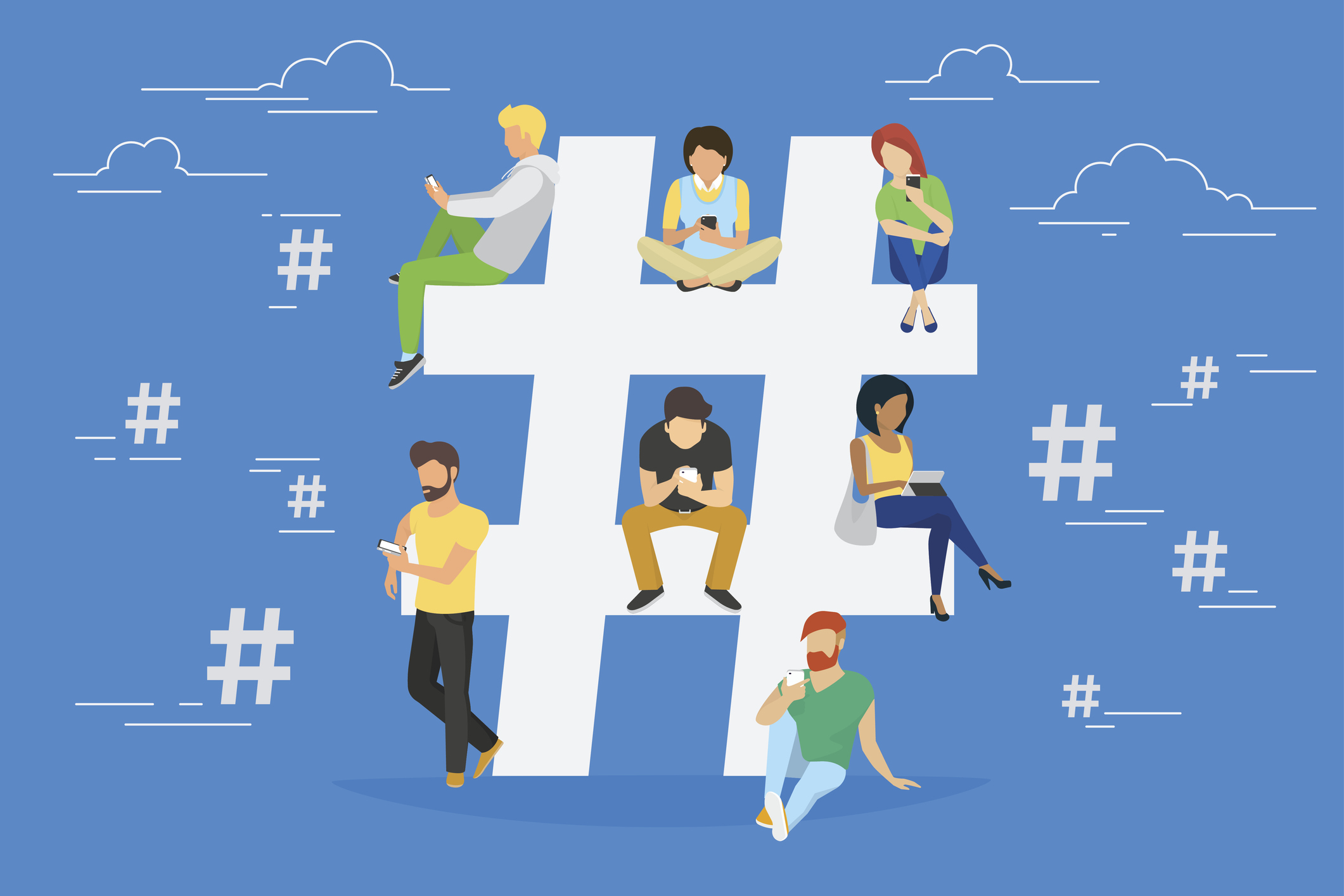 Social Media 101: How to Use Hashtags to Grow Your Audience