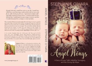 Angel Wings Book Cover Design